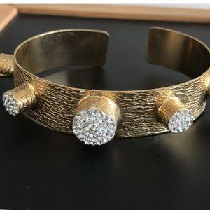 Jewelry - BOGO 50% olArm candy blue beaded t plated Bracelet
